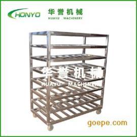 华誉HY-SDC型定制车间速冻用不锈钢架车