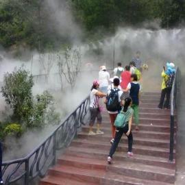 金华景区人造雾-假山景观工程-冷雾景观