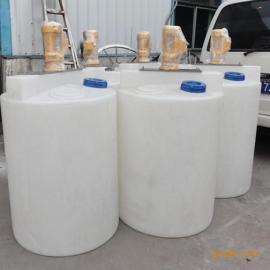 武汉4吨PE药箱滚塑塑料加药箱厂家直销