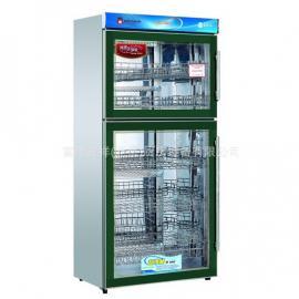 康庭绿钻消毒柜YTD500A-KT1 康庭上下门食具消毒柜