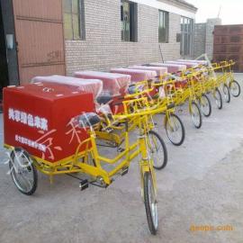厂家供应0.3立方玻璃钢垃圾车铁板三轮车不锈钢电动三轮车