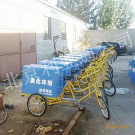 【批发】人力保洁车、三轮垃圾车、玻璃钢环卫保洁车