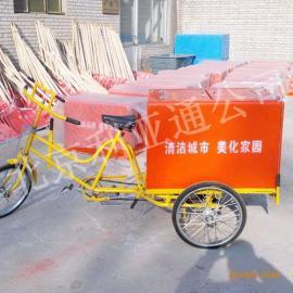 垃圾车厂家供应各类户外、街道、环卫保洁车、人力三轮垃圾车