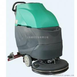 移动式电动洗地机 超市酒店物业保洁用清洗机车库用洗地机