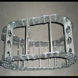 苏州机床钢铝拖链 机床穿线钢制拖链