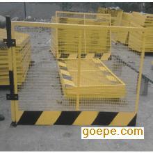 建筑工地基坑临边防护栏