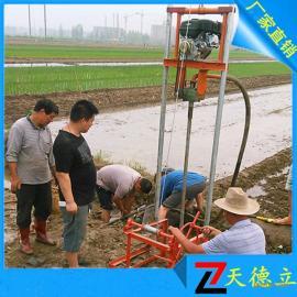 小型水井钻机 菜园浇地用井打井机 民用水井钻机厂家