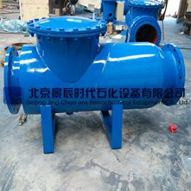 北京吕梁市DN400冷却循环水纵贯卧式除污器 北京厂家直供