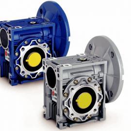 NMRV蜗轮蜗杆减速机(带电机输入法兰/空心轴输出)