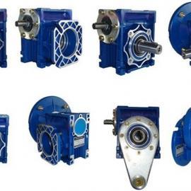 RV蜗轮蜗杆减速机 空心轴/扭力臂/法兰/蜗杆/涡轮轴各种行式输出
