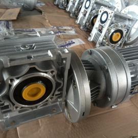 RV50-WB65蜗轮蜗杆减速机与微型摆线针轮减速机组合
