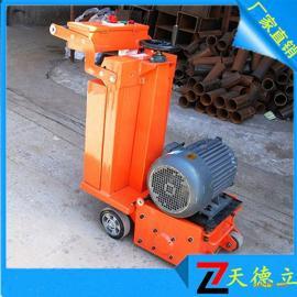 TDL-300型电动路面铣刨机 地面清理拉毛机打毛铣刨机厂家