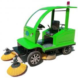 电动扫地车扫地机清扫车-自动洒水清扫吸尘收集垃圾