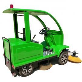 自动洒水吸尘电动扫地车扫地机清扫车电动扫路车适合多种场所