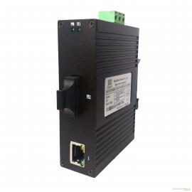 讯记1电1光工业级百兆光纤收发器|光电转换器