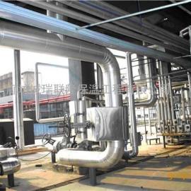 防腐保温岩棉管设备铁皮保温工程施工