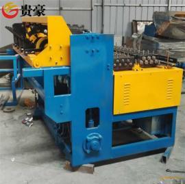 山东鸡笼顶网专用排焊机3种规格纬丝同步焊接