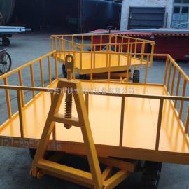 厂家低价促销 散货行李拖车 平板拖车挂车 塑料平板拖车