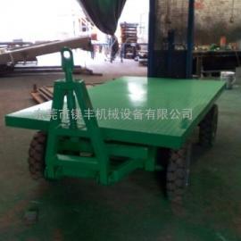 东莞固定护栏式平板车拖挂车 5吨平板拖车