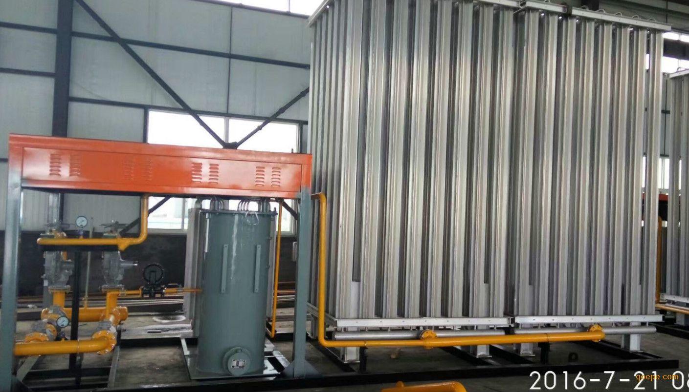 供应河北百亚燃气500立方LNG气化调压撬设备天然气减压站