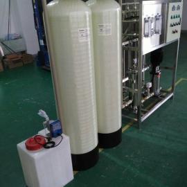 1吨反渗透纯净水处理设备工业清洗纯水机纯水系统