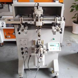 昆明曲面丝印机 圆面丝印机 平曲丝网印刷机