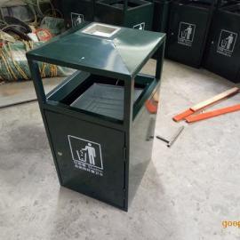 环畅供应hc2005锥子形钢板垃圾桶 小区市政果皮箱