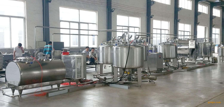 牛奶生产线_小型牛奶加工设备