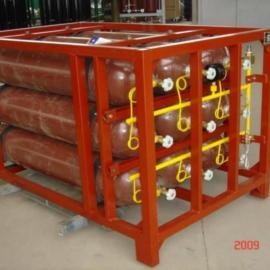 供应天然气储气瓶组 CNG集装格 压缩天然气集束瓶组