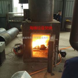 中型自燃环保焚烧炉工作原理