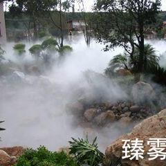 江门喷雾降温-喷雾景观-人造雾工程