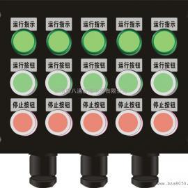防水防尘防腐控制箱 8灯16钮