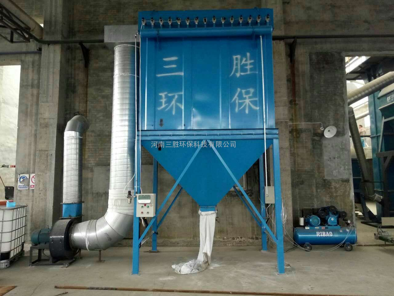 河南鹤壁一吨锅炉除尘器除尘效果显著、解决粉尘疑难问题