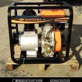 防汛采�6寸柴油�C水泵工作效率高