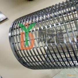 不锈钢矿筛网 条缝筛管 油井过滤管江苏钢丝网管厂家