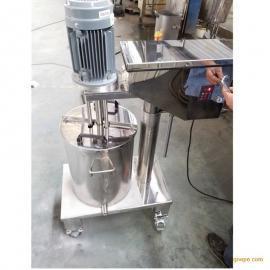 不锈钢电动升降高剪切乳化机厂家