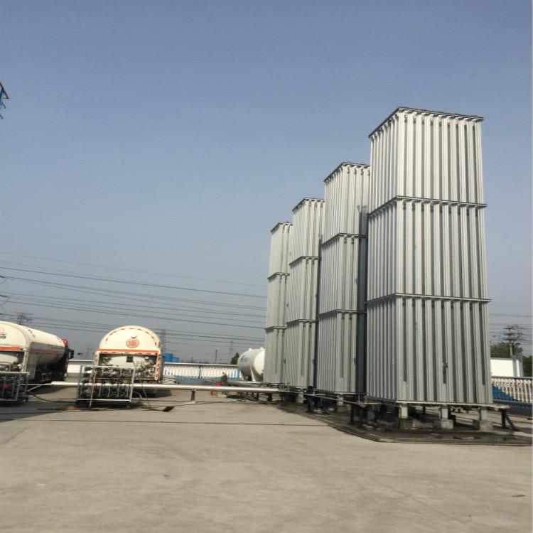 百亚厂家供应空浴式汽化器 LNG低温气化器
