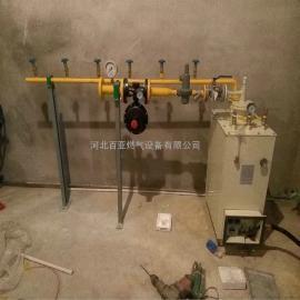 供应百亚二氧化碳电加热汽化器 丙烷电加热 水浴式复热器设备