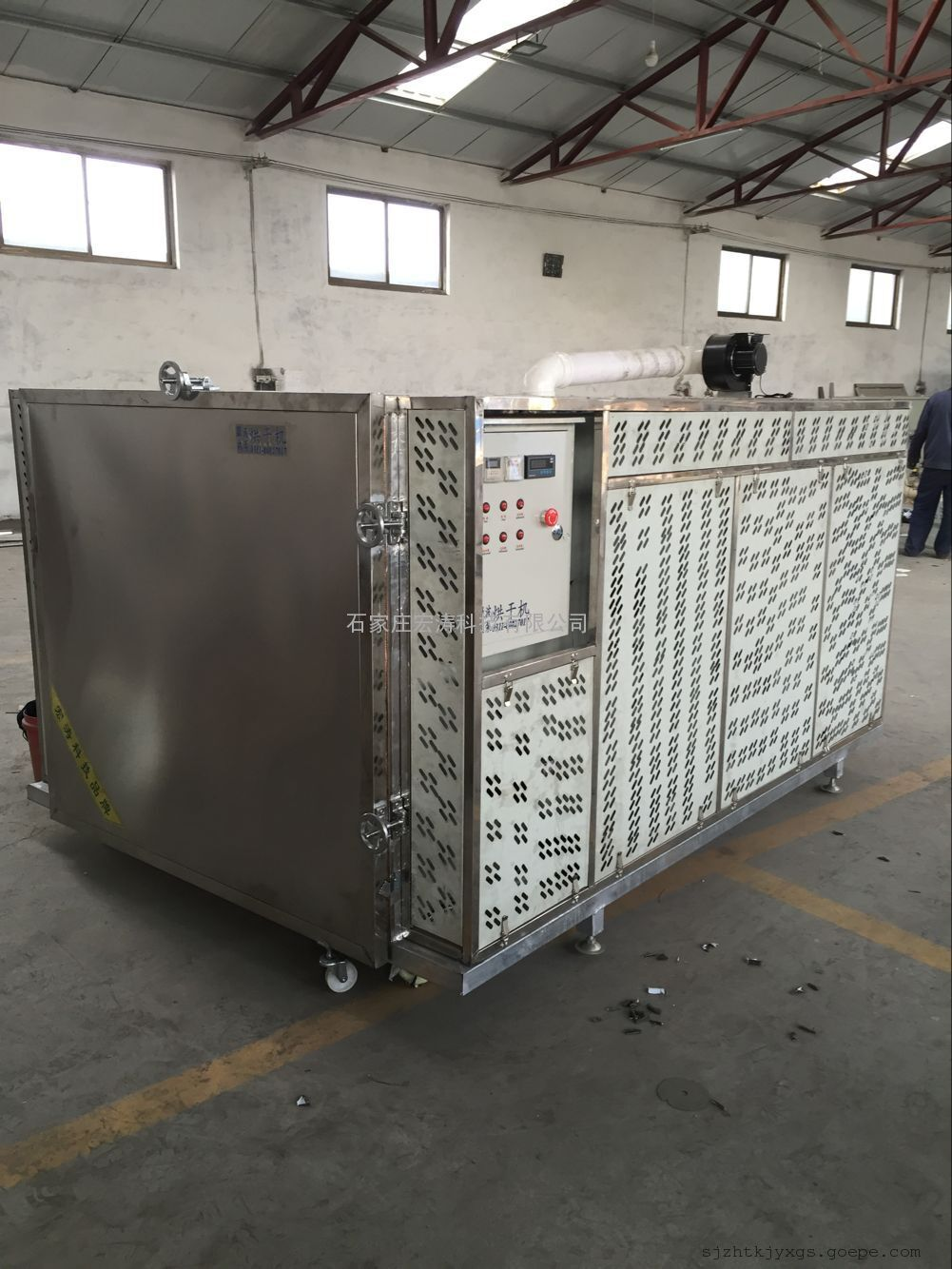 河北厂家供应全自动智能微波木材烘干机不锈钢微波干燥设备