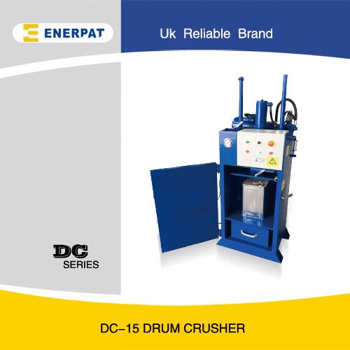 油漆桶压扁机,油桶压缩机生产厂家