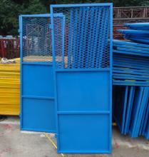 施工电梯安全门 施工电梯防护门