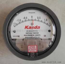 差压表2300-3KPA压差表,天津正负风压表厂家实物价格