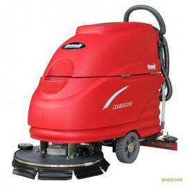 手推式工业用洗地机 移动式电动洗地机 物业保洁用洗地机