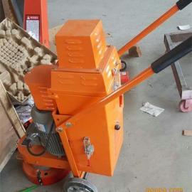 西门子电机做300型环氧地坪打磨抛光机 4KW砂纸打磨机厂家