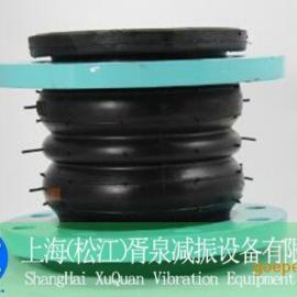 DN300双球体橡胶接头丨耐酸碱橡胶软接头材质耐腐蚀