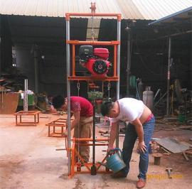 民用水井钻机 农田灌溉用水井钻机 下PVC管打井机