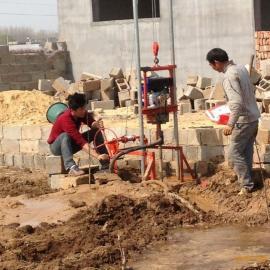 龙门架式小型水井钻机 民用单相电小型水井钻机 厂家