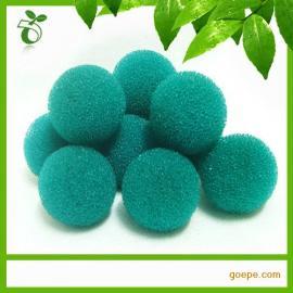 深圳绿创厂家直销 海棉球 清洁海绵 厨房海绵球
