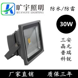LED方形投光灯30W生产厂家