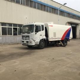 东风天锦大型吸尘车-扫路车、洗扫车厂家